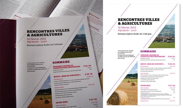 """Pages intérieures - """"Rencontres villes & Agricultures"""" - Pôle Métropolitain"""