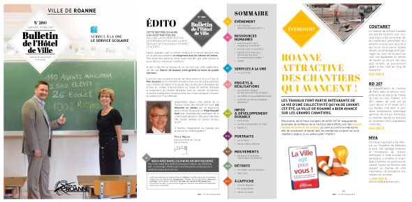 Nouvelle maquette du magazine - BHV - Roanne 2013 - by niaksniaks