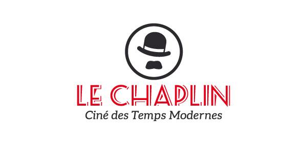 Logotype - ciné chaplin - rive de gier - niaksniaks