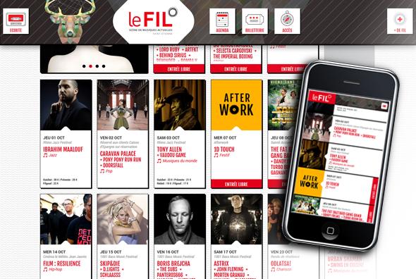 Site internet 2015 - le-fil.com