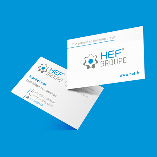 Carte de visite - HEF - niaksniaks