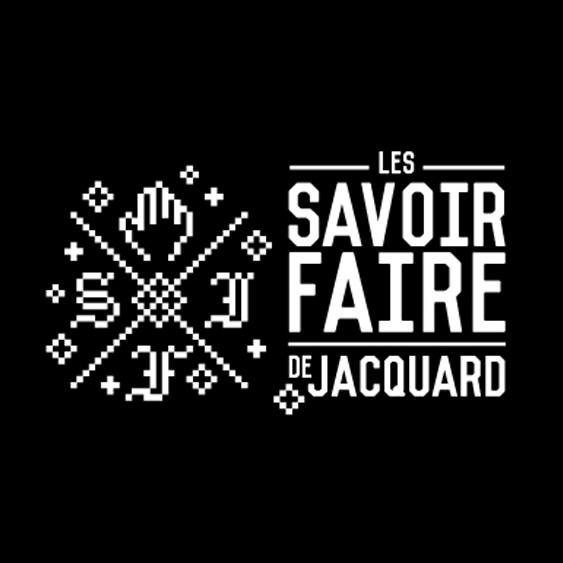 logotype - les savoir-faire de jacquard - niaksniaks