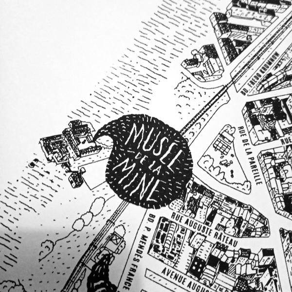Mon Plan illustré de Saint-Étienne - niaksniaks