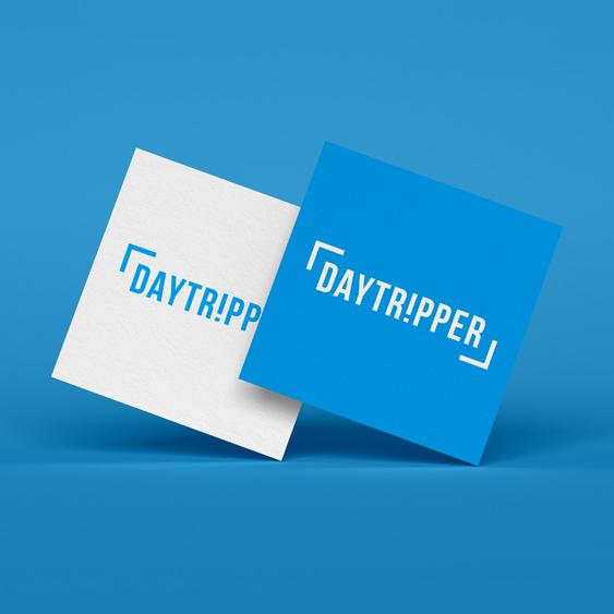 carte de visite et logotypede l'application mobiledaytripper