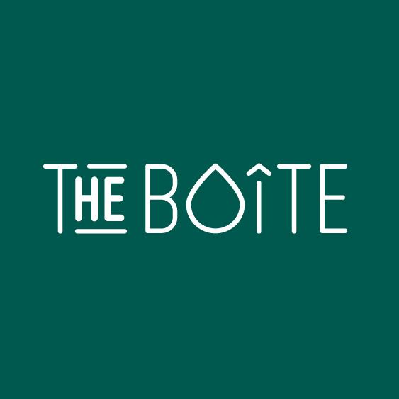 logo de The boîte, boite à huiles essentielles