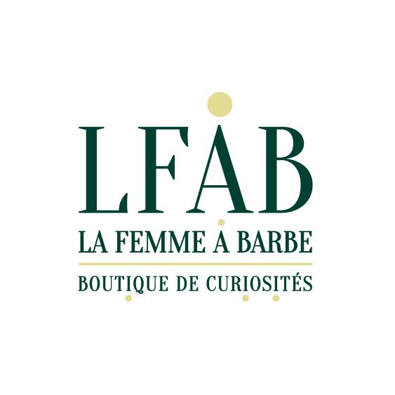 logo de la femme à barbe